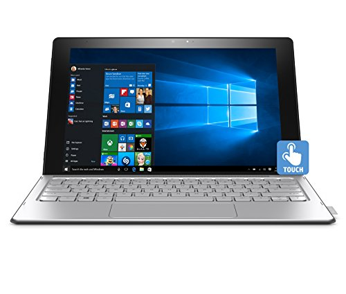 HP Spectre 12-a008nr x2 Detachable N5S21UA#ABA Laptop (Windows 10, Intel Core m3-6y30, 12' LED-Lit Screen, Storage: 128 GB, RAM: 4 GB) Black/Silver