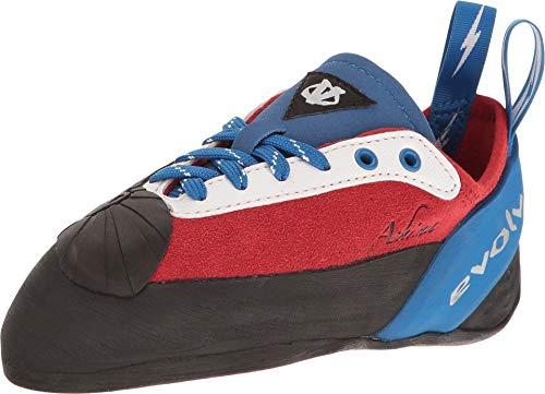 Evolv Ashima Climbing Shoe - Red/White/Blue 5.5