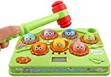 Goorder Hammerspiel ab 2 3 4 5 6 Jahre, Interaktives Spielzeug, Entwicklungskinderspiele Musik Klopfspiel, Montessori Spielzeug für Kinder/Baby/Kleinkinder, Lernspielzeug Geschenk für Jungen Mädchen