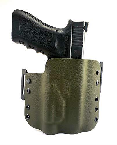 Tru-Fit Tactical OWB Kydex Gun Holster (OD Green) for Streamlight TLR-1, TLR-1S, TLR-1HL Available for 50+ Gun Models