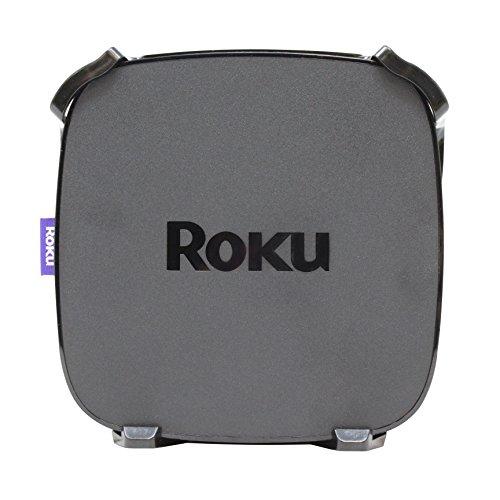 HumanCentric Roku Ultra Mount Accessory | Houder voor Roku Ultra, Premeire, Premeire+ die achter tv wordt bevestigd met haken, lijm of gipsplaat schroeven