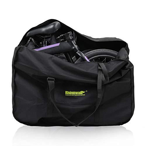 20/26 pouces sac de transport de vélo pliant sacs de voyage de vélo imperméables 600D Oxford sac de vélo housse de protection transportant un sac de rangement extérieur pour le transport, le voyage aé