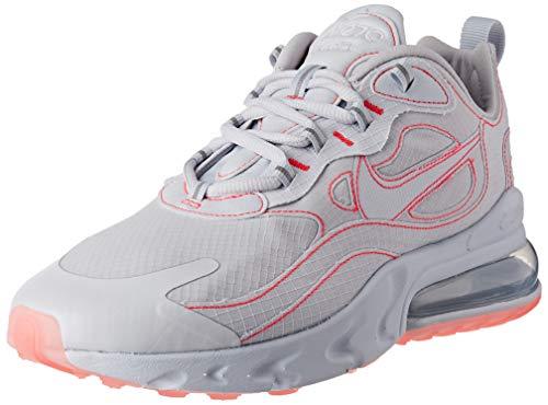 Nike Air MAX 270 React SP, Zapatillas para Correr Hombre, White/White/Flash Crimson, 43 EU