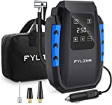 Air Compressor Tire Inflator , FYLINA Portable air pump with 12V 150PSI Digital