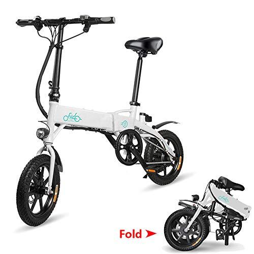 Bicicletta elettrica Pieghevole, Fiido D1 Ebike 10,4 Ah