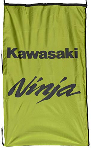 KAWA-SAKI Ninja Fahne Banner Vertikal Grün