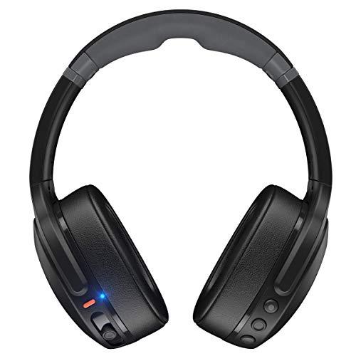 Skullcandy Crusher Evo Wireless Over-Ear Headphone - True Black (Renewed)