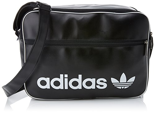 adidas Airliner Vintage Tasche, Black, One Size