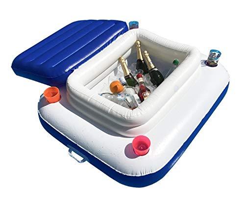 Summer Waves Glacière de piscine - Pour boissons - Gonflable