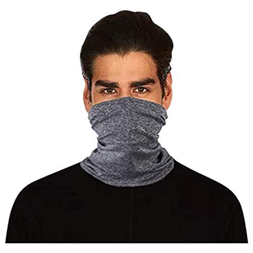 Briskorry Face Shield Bandana Halstuch Mundschutz Multifunktionstuch Gesichtsmaske Staubdicht UV-Schutz Atmungsakti