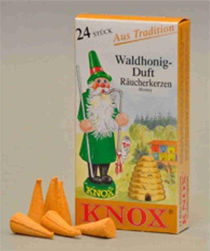 Knox Räucherkerzen Waldhonig 24 St. / Pkg.