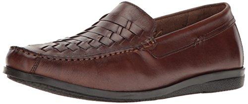 Dockers Men's Templeton Slip-on Loafer, Antique Brown, 8 M US