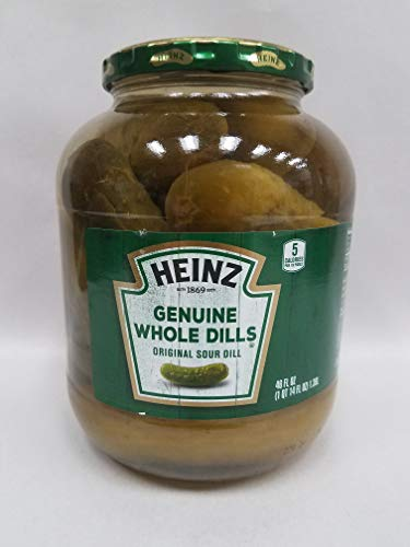 Heinze Genuine Whole Dills 46 oz 3 Unit Pack