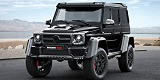 Brabus Mercedes-Benz G 500 4x4 Black Resin Model in 1:43 Scale by Minichamps