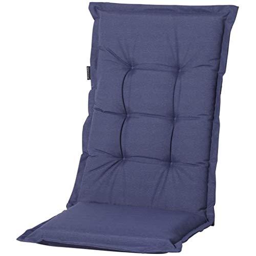 Madison – Coussin pour fauteuil à dossier bas – Outdoor safier Panama Bleu