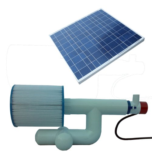 Natural Current Savior Bottom Feeder Pool/Spa Solar Pump and...