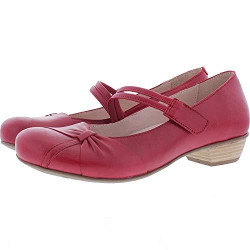Brako / Modell: Bem/Rojo-Rot Leder/Art: 6467 / Damen Ballerinas (40 EU)