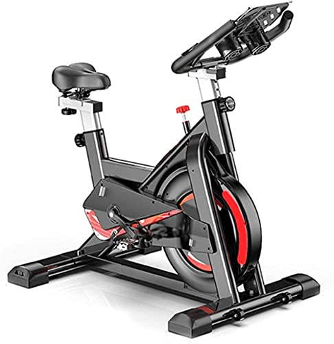 WGFGXQ Exercise Bikes Spinning Bike Indoor Super Mute Fitness Bicycle Stationary Resistance Adjustable Handlebars Seat Cardio Training Maximum Load 150kg Black