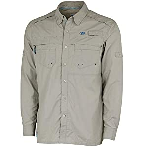 Mossy Oak Long Sleeve Fishing Shirts for Men, Quick Dry with UPF Sun Protection