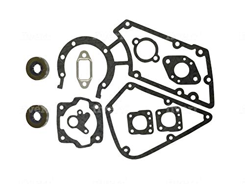 EngineRun TS350 TS360 11080071050 11 Pcs Gasket Set with Oil Seal fits for Stihl TS 350 360 Cut-Off Saw 1108-007-1050