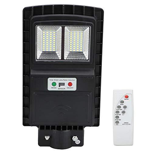 Pangdingk LED Straßenlaterne, 90W 160LED Solar Radar Induktionslicht, Parks für Außenwandgärten