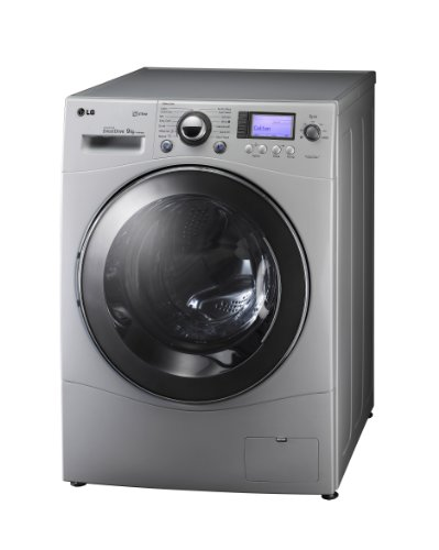 LG 1479FDS5 1400rpm 9kg Steam Direct Drive Washing Machine Silver