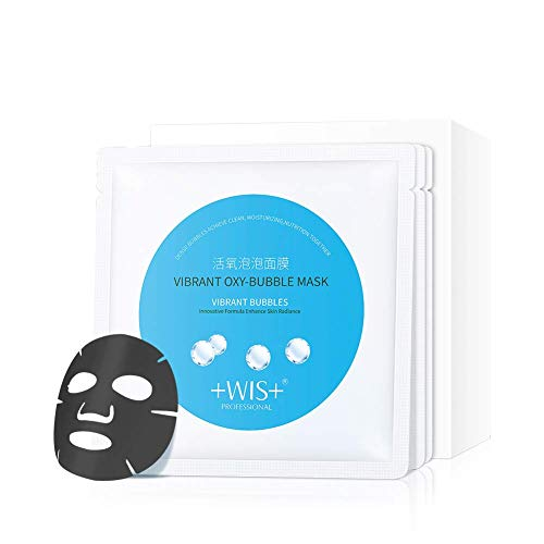 WIS 10 Pack Cleansing Mask SPA Face Mask Bubble Purifying Mask, Moisturizing Facial Mask Treatment Mask Sheet for All Skin...