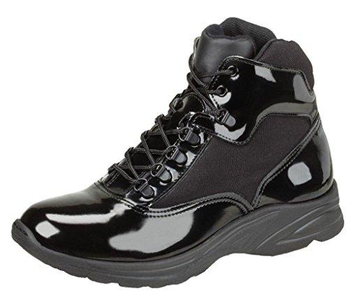 Thorogood Men's 831-6833 Uniform Classics 6' Poromeric Cross-Trainer Plus Boot, Black - 8.5 M US