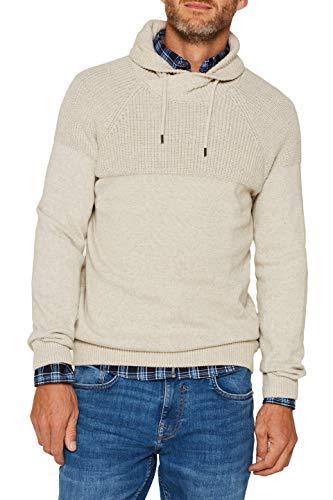 ESPRIT Herren 109Ee2I013 Pullover, Beige (Light Beige 290), X-Large (Herstellergröße: XL)