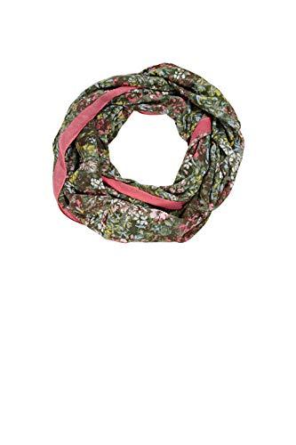 ESPRIT Accessoires Damen 021EA1Q305 Mode-Schal, 350/KHAKI Green, 1SIZE
