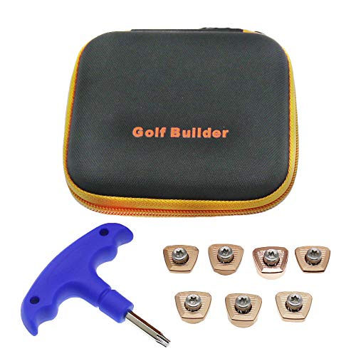 HISTAR Golf 7pcs Weights Screws + Blue Wrench + Case for Ping G400 Driver Fairway Wood Hybrid