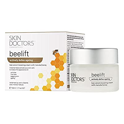 Skin Doctors Beelift, Award Winning Anti-Ageing Skincare Treatment Cream with Bee Venom, Manuka Honey & Royal Jelly. Reduces Signs Of Ageing, Collagen Boosting and Paraben Free. 50ml