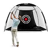 Dioche Golf Schlagen Netz, Outdoor Faltbares Ziel Trainings Tragbares Golf Praxis Netz Zelt -