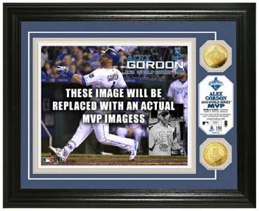 MLB Kansas City Royals 2015 World Series Champions MVP Gold Coin Photo Mint