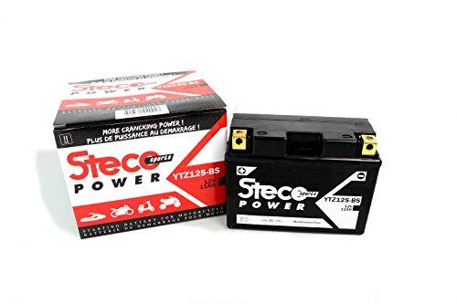 Wartungsfreie Batterie YTZ12S-BS 11Ah H-onda CBR 600 RR 2003-2016, CBR 600 RR ABS 09-15, CBR 650 F 2014-2018 (Steco Power)