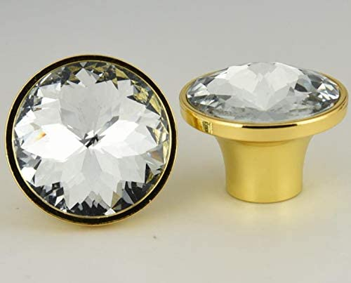 Cabinet Pull Bauhinia Crystal Glass Knobs Rhinest Pulls Ranking TOP11 Cupboard Japan Maker New