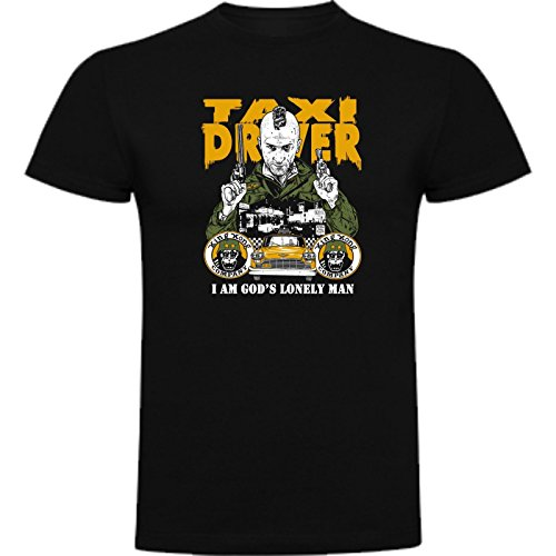 The Fan Tee Camiseta de Hombre Taxi Driver Robert de Niro 1976 Scorsese