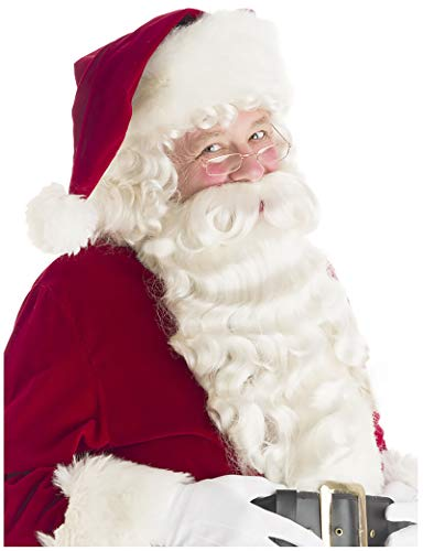 Deluxe Santa Beard and Wig Set Santa Claus Beard and Wig Santa Beard