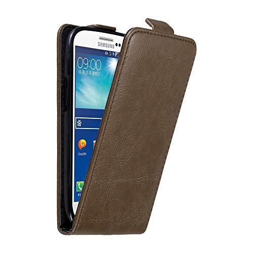 Cadorabo Custodia per Samsung Galaxy S3 / S3 NEO in BRUNO CAFFÈ - Protezione in Stile Flip con Chiusura Magnetica - Case Cover Wallet Book Etui