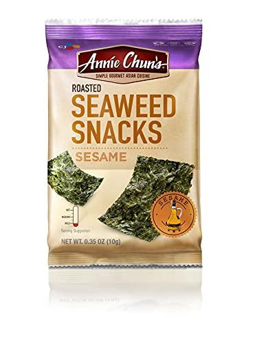 Annie Chun's Seaweed Snacks, Roasted Sesame, 0.35 Ounce
