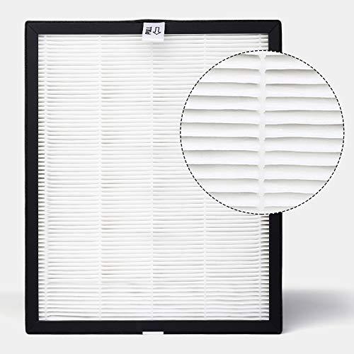 PARTU True HEPA Filter- Active Carbon & BS-10 Air Purifier Replacement, 99.98% Filtration, 29.5CM 24.1CM 3.5CM,1 Pack