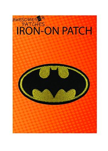 Batman Iron-on sew-on Patch Applique 100% Embroidery Superhero Justice League K-32