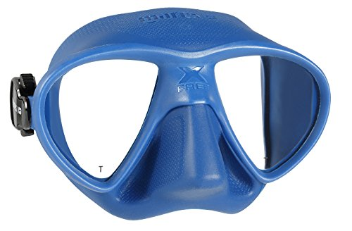 Mares X-Free Spearfishing Freediving Mask, Blue