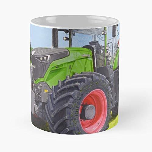 Awesomdeals Fendt Farmart Tractor Tractors Farm Tractorart Farming Best 11 oz Kaffeebecher - Nespresso Tassen Kaffee Motive