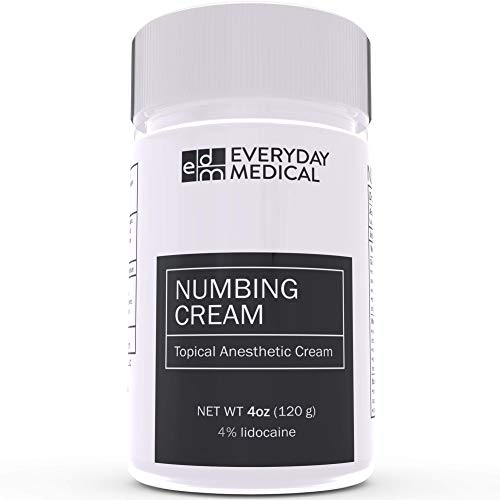 Everyday Medical Numbing Cream - 4% Lidocaine Topical Anesthetic...
