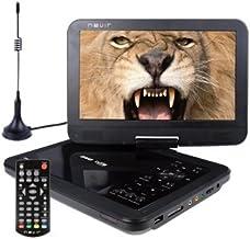 Nevir DVD PORTATIL 10.1''NVR-2768DVD-PUCT2 Negro TDT HD USB