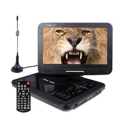 DVD PORTATIL NEVIR 10.1''NVR-2768DVD-PUCT2 NEGRO TDT HD USB