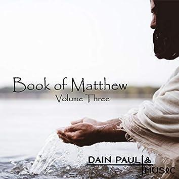 Book of Matthew V.3