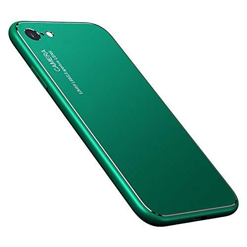 YUYIB iPhone 6s ケース iPhone 6 ケース 耐衝撃 おしゃれ 保護カバー 指紋防止 薄型 軽量 レンズ保護 ハードケース アイフォン6s カバー スマホケース (iPhone6/iPhone6s, グリーン)