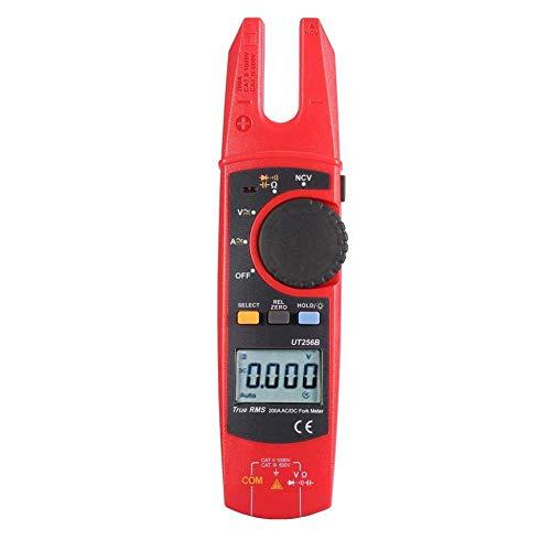 AWCPP Pinza amperimétrica digital, Ut256B Pantalla Lcd Voltaje CA/CC Corriente digital Pinza...